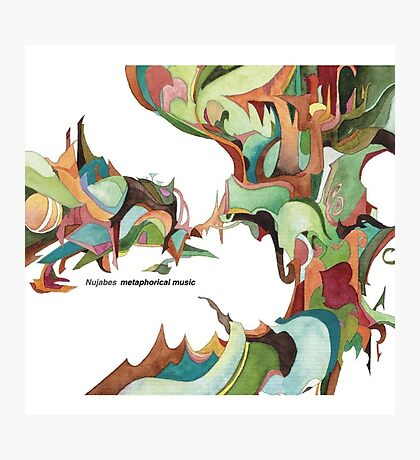 NUJABES METAPHORICAL MUSIC R.I.P Photographic Print