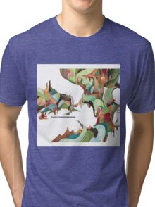 NUJABES METAPHORICAL MUSIC R.I.P Tri-blend T-Shirt