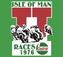 Isle Of Man TT Races 1976 Kids Clothes