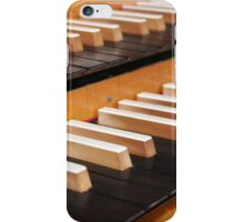 Pipe organ keyboard  iPhone Case/Skin