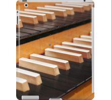 Pipe organ keyboard  iPad Case/Skin