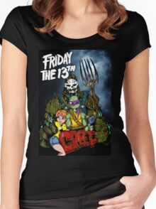 The Creep Women's Fitted Scoop T-Shirt