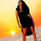 SunSet Girl by artsphotoshop