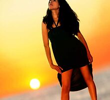 SunSet Girl by artsphotoshop