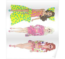 Moschino Barbies Poster