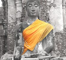Buddha calm by sparkiesworld