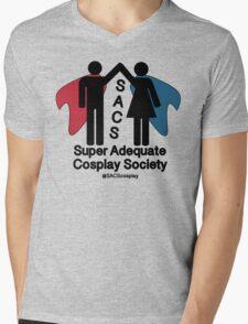 SACS symbol Mens V-Neck T-Shirt