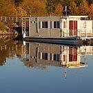 Mirror The Boat by Lynda   McDonald