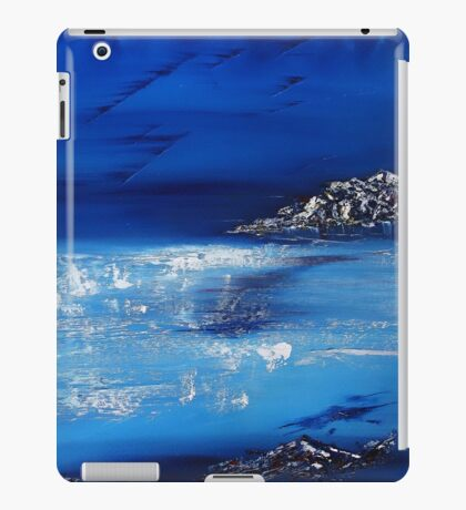 Winter scene in the alps iPad Case/Skin