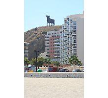Toro de Osborne - Fuengirola Photographic Print
