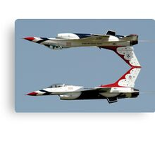 Thunderbirds - USAF US Air Force Display Team - Great aviation photo Canvas Print