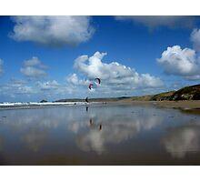 Beach Reflection Photographic Print