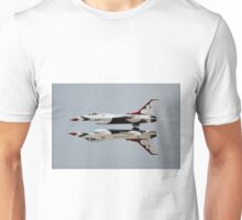 Thunderbirds - USAF US Air Force Display Team - Great Aviation Aerial Photo Unisex T-Shirt