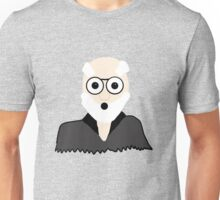 Surprised Older Gentleman Unisex T-Shirt