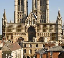 Lincoln Cathedral and precinct by Mark Baldwyn