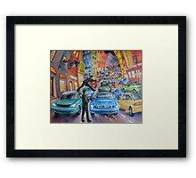 Road Rage Framed Print