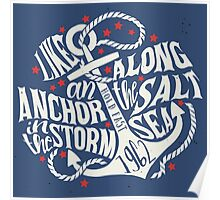 Like an Anchor In The Storm Poster