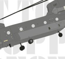 Get to the chopper!! Sticker
