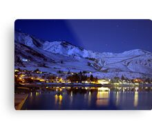 BEAUTIFUL LAKE CHELAN AT NIGHT  Metal Print