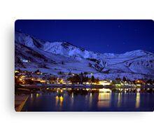 BEAUTIFUL LAKE CHELAN AT NIGHT  Canvas Print