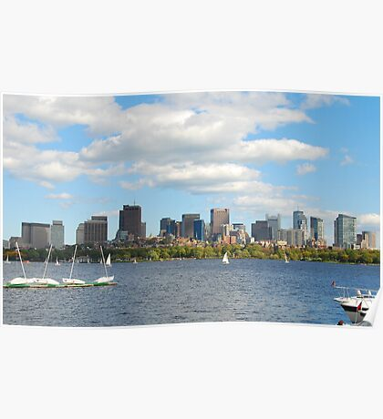 BOSTON charles river, MA Poster