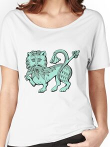 Medieval Lion Women's Relaxed Fit T-Shirt