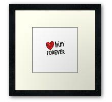 Love Valentine Framed Print