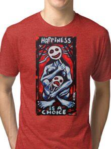 'HAPPINESS'  Tri-blend T-Shirt