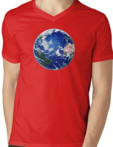 Earth - The Blue Planet Mens V-Neck T-Shirt