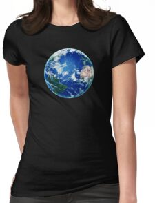 Earth - The Blue Planet Womens Fitted T-Shirt
