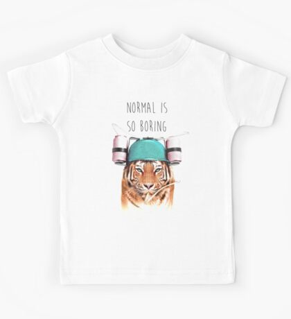 Swaggy Tiger Kids Tee
