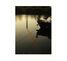Smoke On The Water (Trent river, England) Art Print