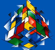 Rubik's Cubism by David Benton