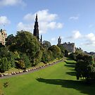 Edinburgh east gardens by Kevin Meldrum