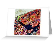 Gods Paint Pallet Greeting Card