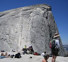 Just Before Half Dome by Laurie Puglia