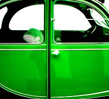 2CV Green by Daniel Sorine