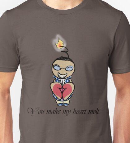 You Make My Heart Melt. Unisex T-Shirt