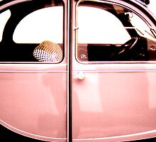 2CV Rose by Daniel Sorine
