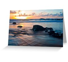 Golden tide of Puttsborough Greeting Card