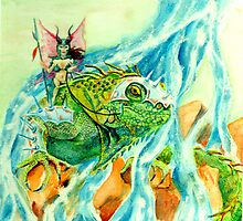Iguana Patrol by Stephen Haning
