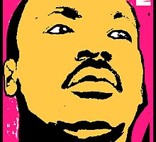 MARTIN LUTHER KING JR-MLK COLOUR by OTIS PORRITT