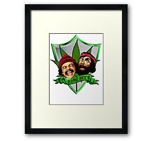 Cheech & Chong - Bong Hits Framed Print