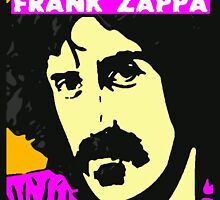 FRANK ZAPPA-COLOUR by OTIS PORRITT