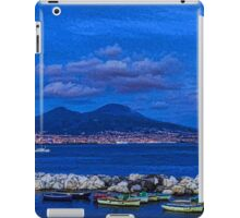 Blue Night in Naples - Mediterranean Impressions iPad Case/Skin