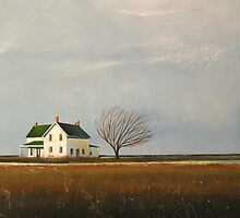 """""""Abandoned"""" Farm House Landscape by ToniGrote"""