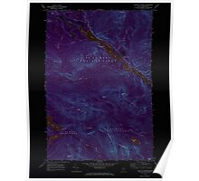 Maine USGS Historical Map Chain Of Ponds 105014 1969 24000 Inversion Poster