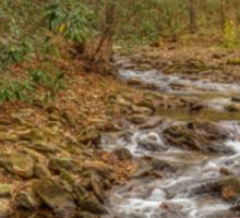 DeSoto Falls – scenic hikes along Frogtown Creek Sticker