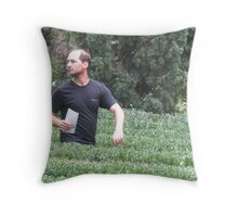 One who lost himself in Labyrinth Throw Pillow