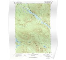 Maine USGS Historical Map Chain Of Ponds 105014 1969 24000 Poster